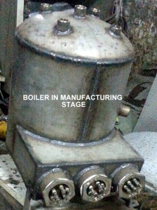 ELECTRIC BOILER MANUFACTURING STAGE