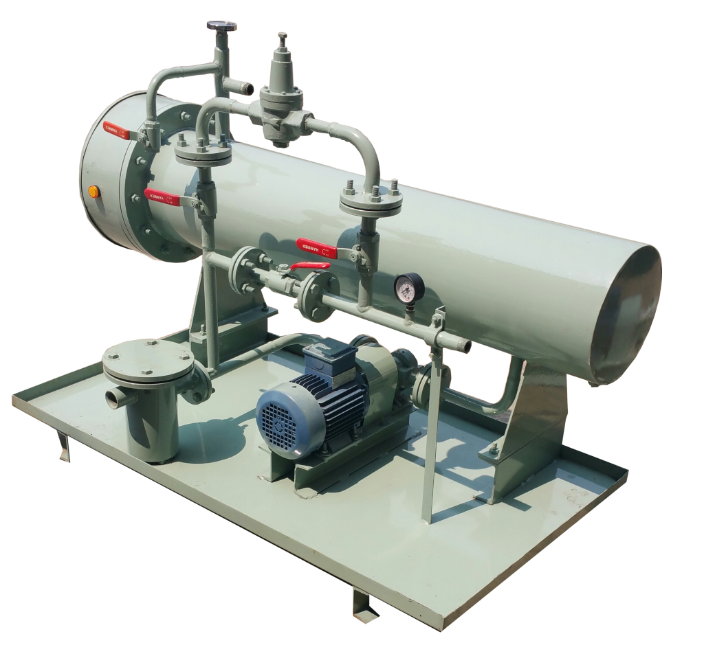 heating pumping unit