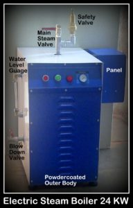 Electric Steam Boiler Hitherm 24 kW model