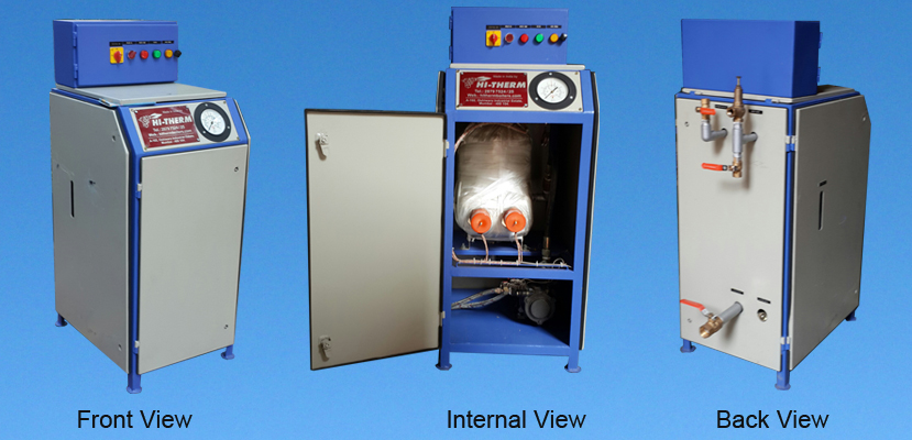 Electric Steam Boiler Hitherm All Views