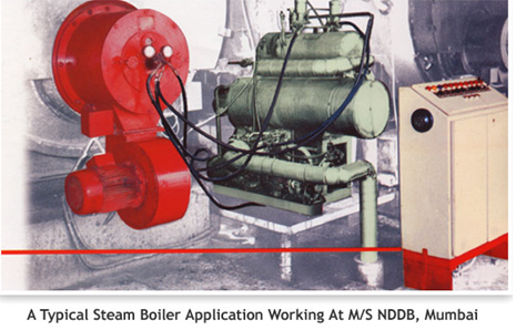 industrial oil burner application