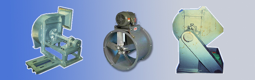 induced draft blowers / axial fans manufacturer