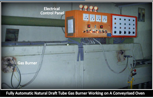 natural draft gas burners