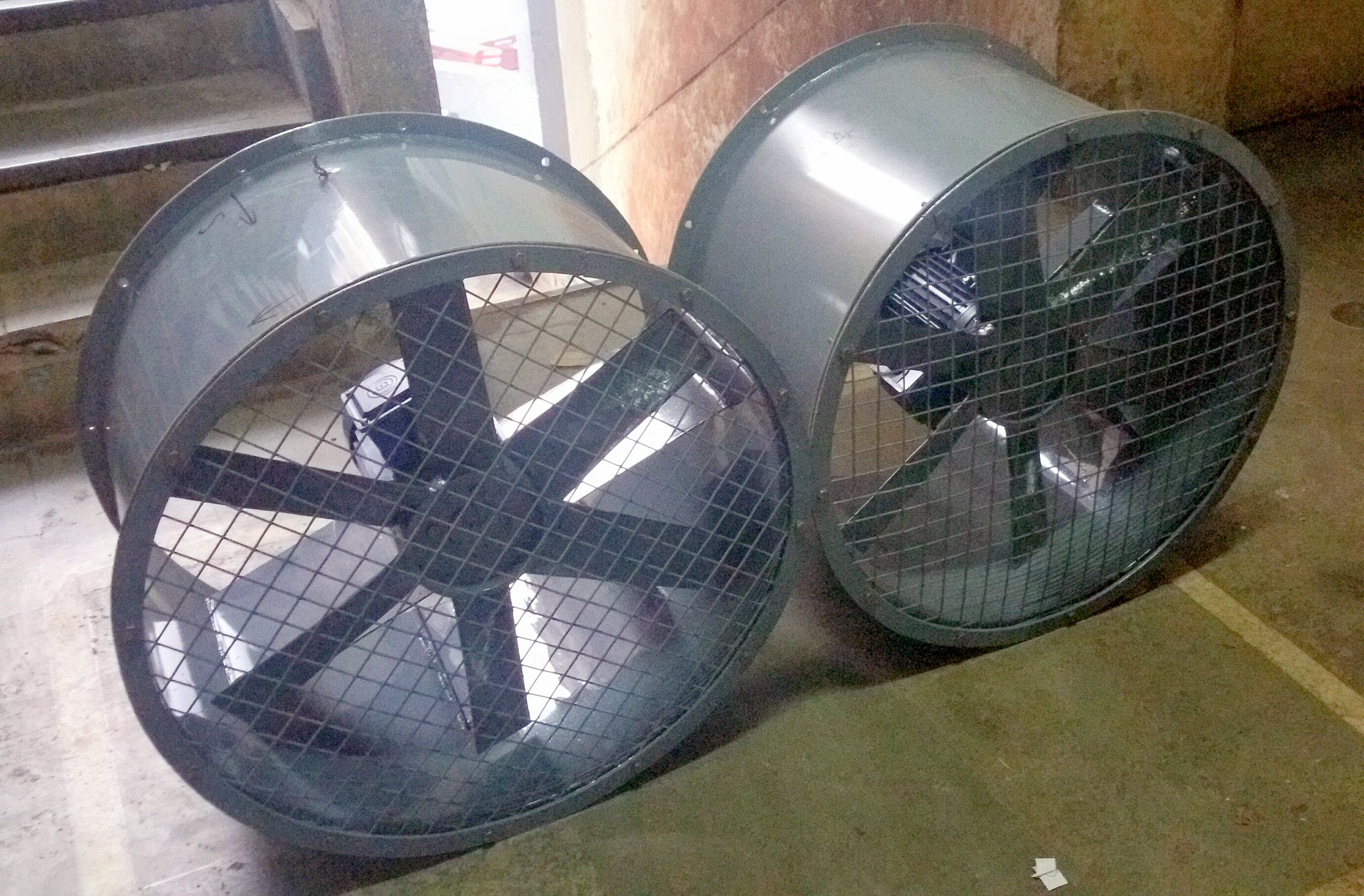 High Pressure Axial Fan : Induced draft blowers axial fans hi therm boilers