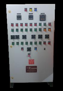 dual fuel burner control panel