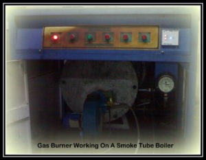 hitherm industrial gas burner for boiler