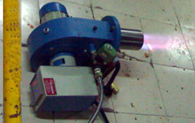 natural gas burner hitherm