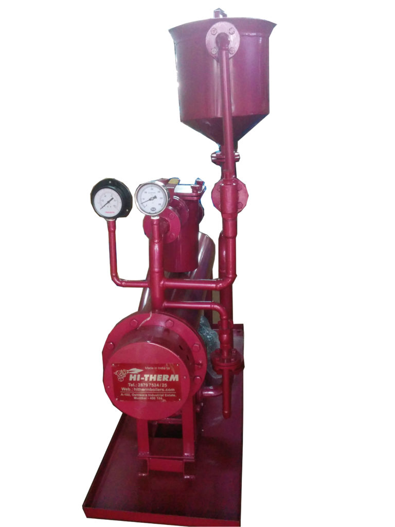 electric thermic fluid heater hitherm