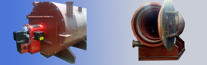 Oil / Gas Fired Thermic Fluid Heater Hitherm